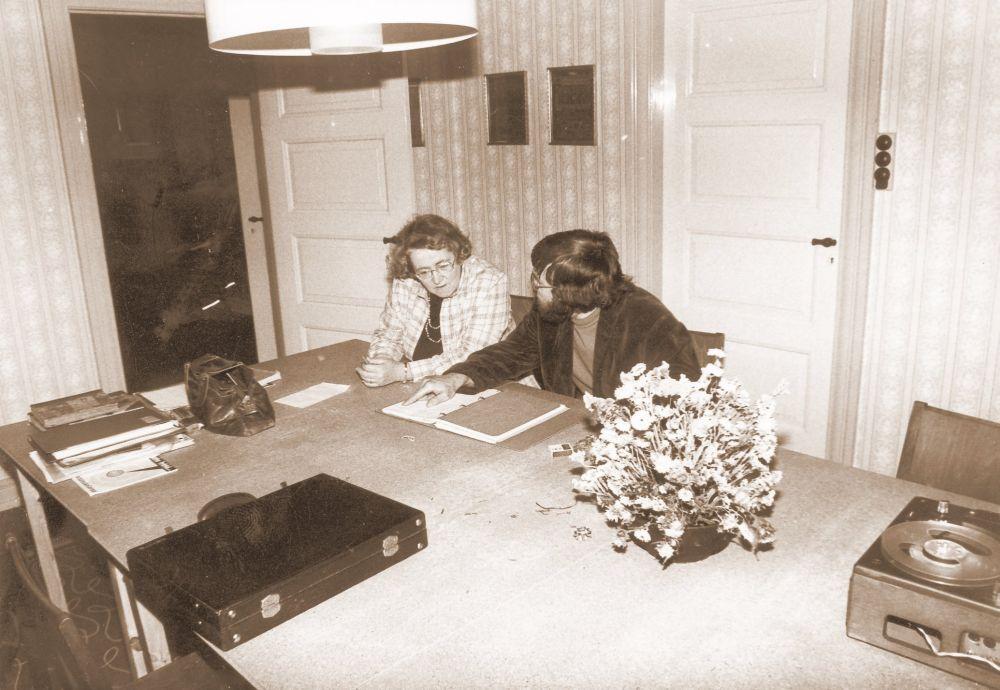 Lokalhistorisk studiekreds planlægges (1970'erne)
