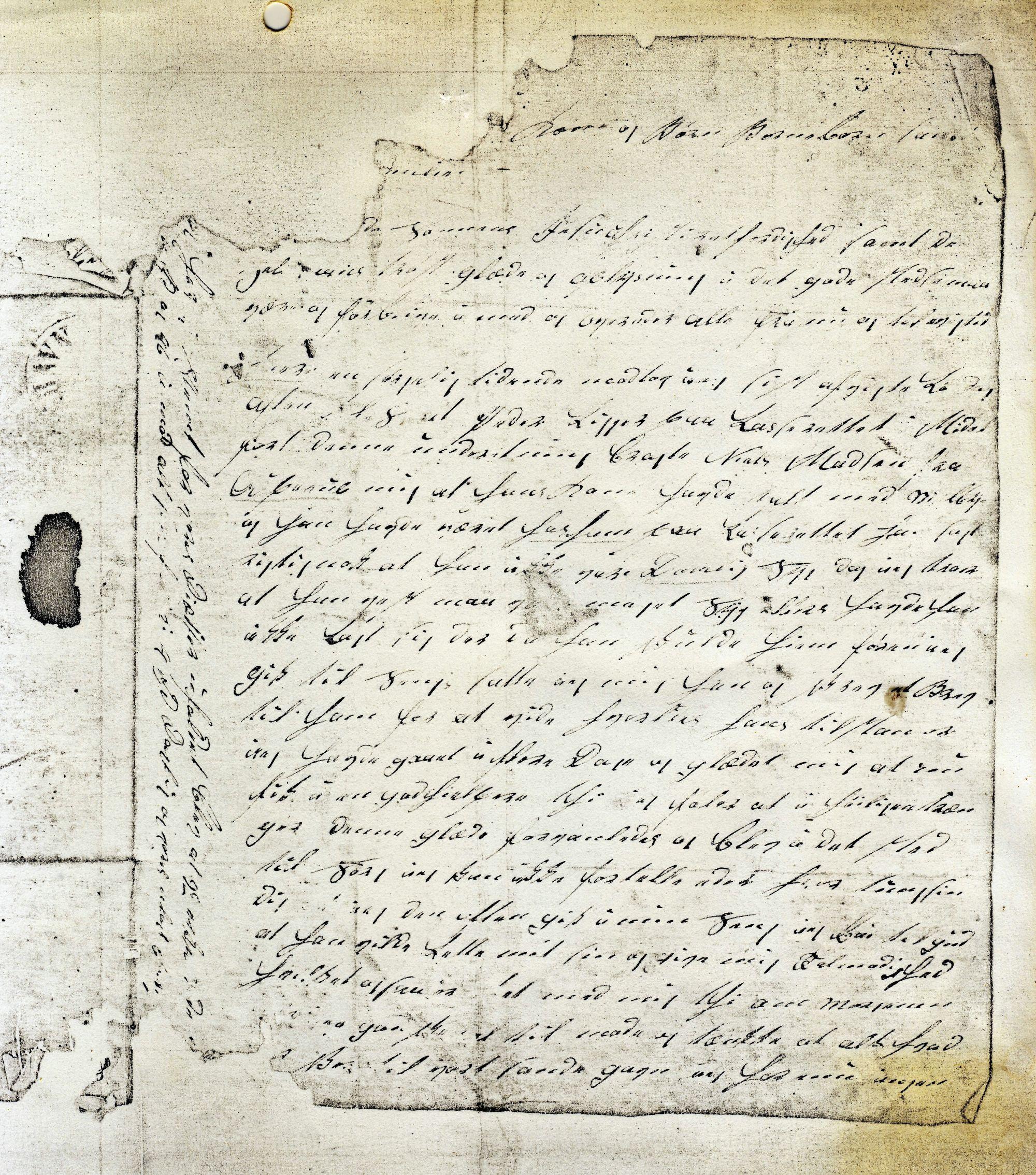 Politiker Hans Christensen brev 15-11. 1848 (2)