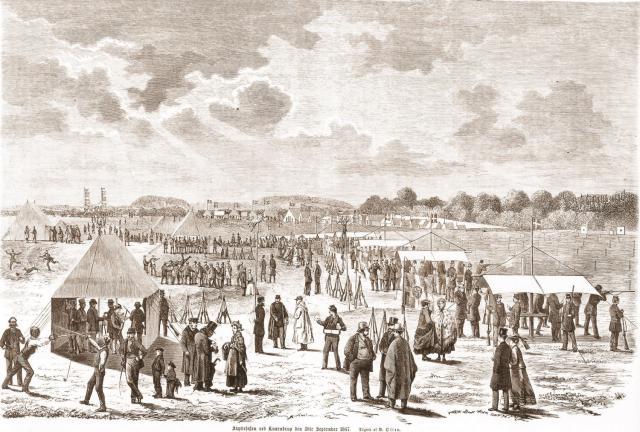 Skyttefest i Kværndrup 1867