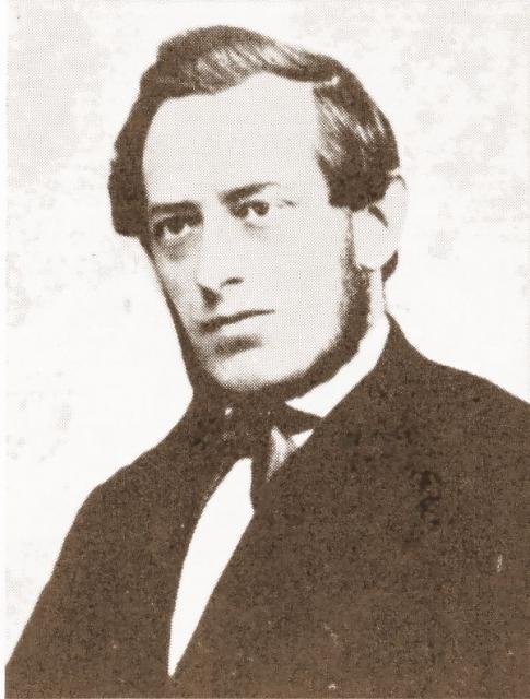 Redaktør Gottlieb Petersen (1829-1883)