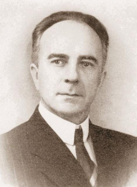 Amtsvejinspektør A.P. Grimstrup, R. af D., Svendborg