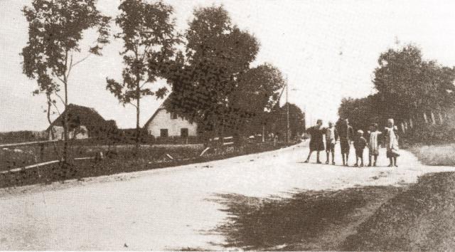 Kirkeby skole ca 1900
