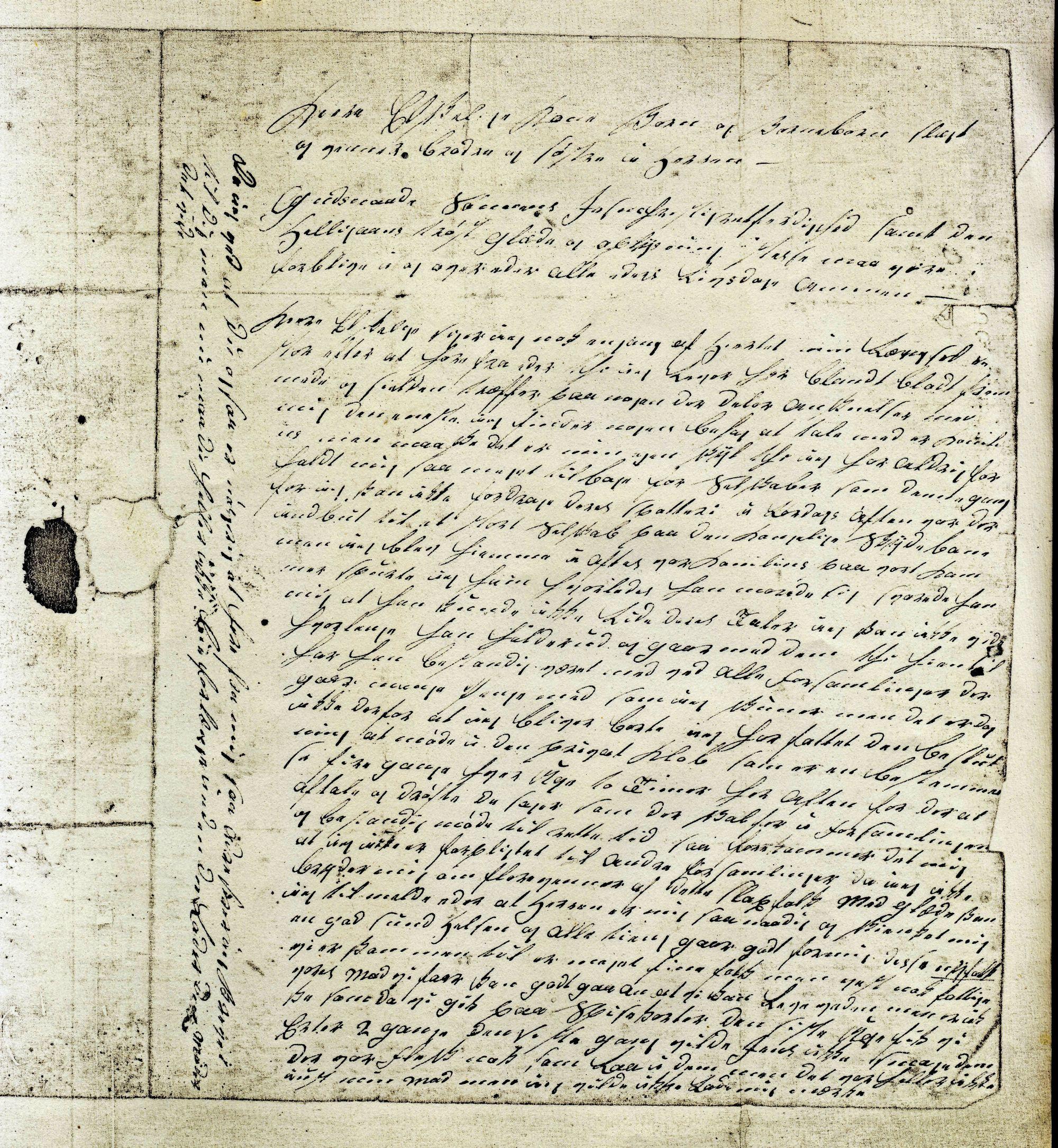 Politiker Hans Christensen brev 16.-1- 1849 (2)