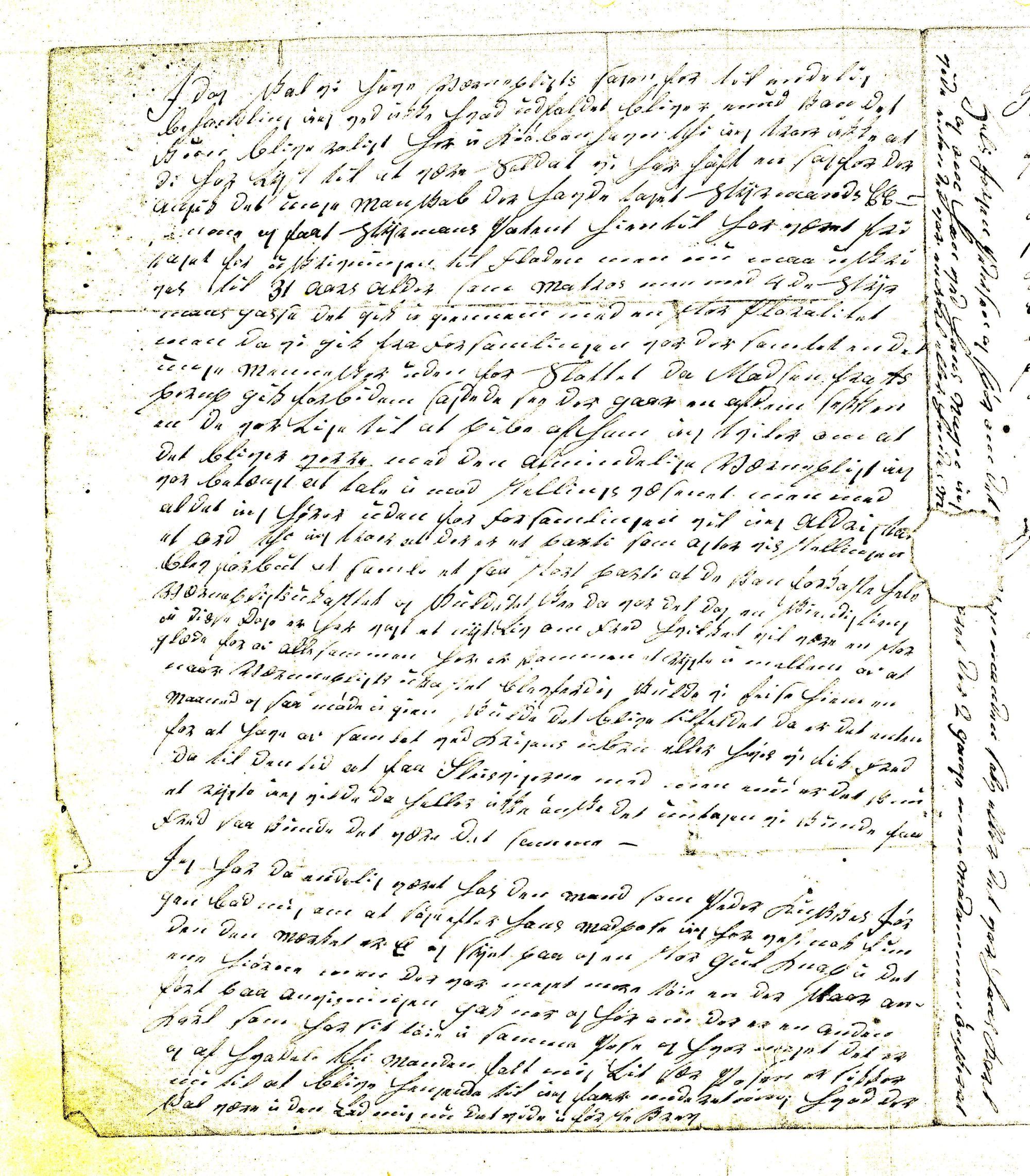 Politiker Hans Christensen brev 16.-1- 1849 (3)