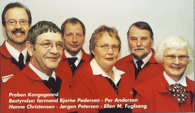 Dagli' Brugsen i Stenstrup 1901-2001 - uddeler og bestyrelse 2001