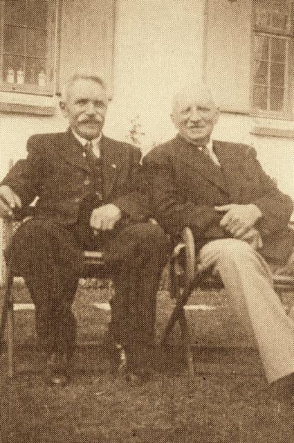 2 brødre Frederik og Niels Egebjerg, redaktører i henholdsvis Silkeborg og Nyborg