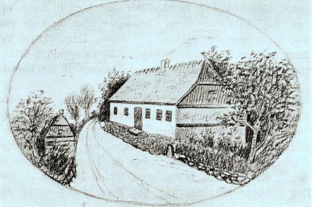 Lundby Skole - opført efter brand i 1779