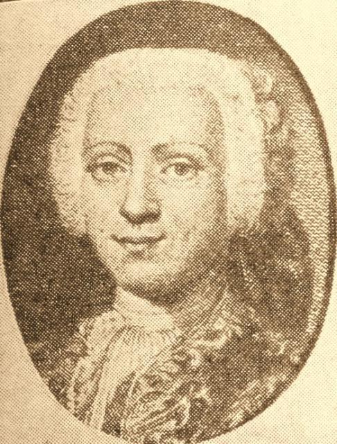 Historisk samler Hans de Hofmann (1713-93)