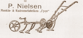"regningshoved - Radrensefabriken ""Fyen"" Stenstrup"