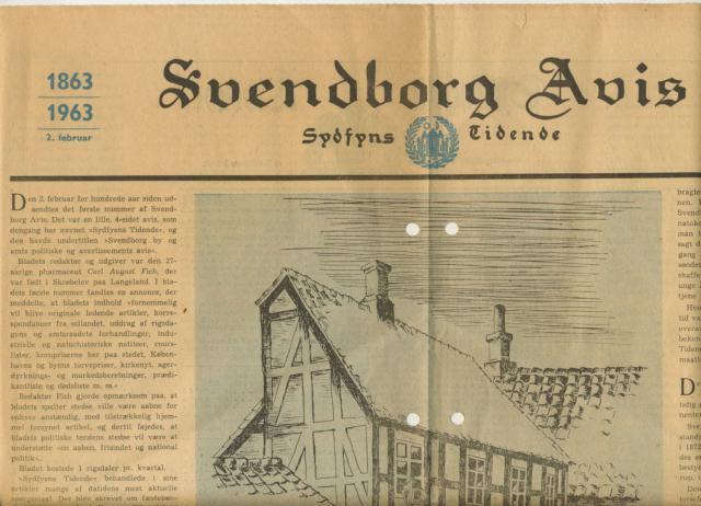 Svendborg Avis 1863-1963