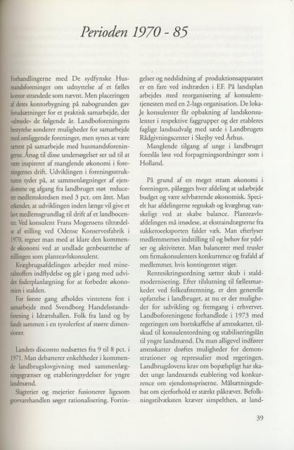 Sv. & Omegns landbf 1901-2001 - Perioden 1970-85