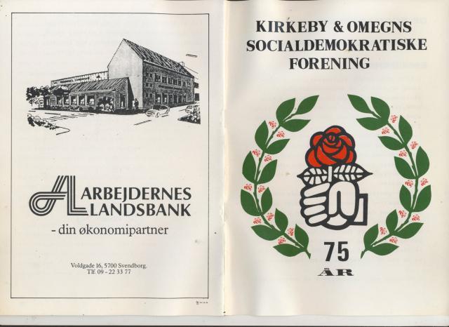 Kirkeby & Omegns Socialdemokratiske Forening 1909-1984