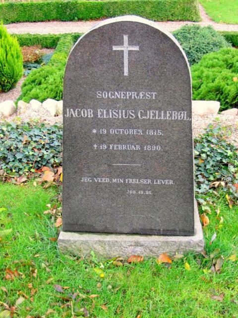 Sognepræst Jacob Elisius Gjellebøl Vester Skerninge kirkegård