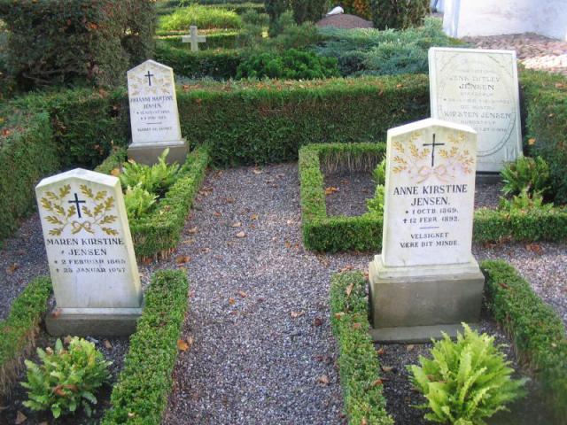 Kildegårds familiegravsted Ollerup kirkegård