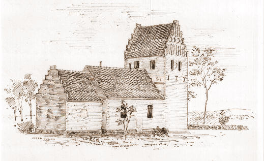 Kirkeby Kirke 1878