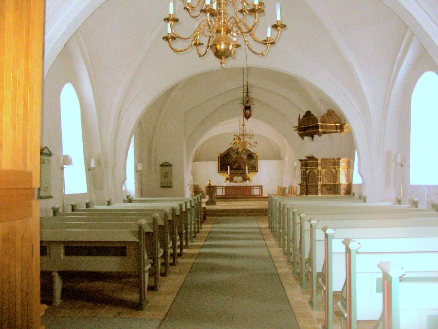 Kirkerum i Stenstrup kirke