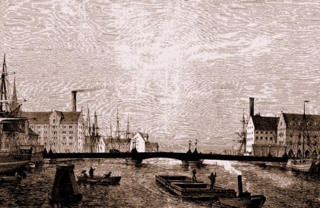 Den nye Knippelsbro 1868