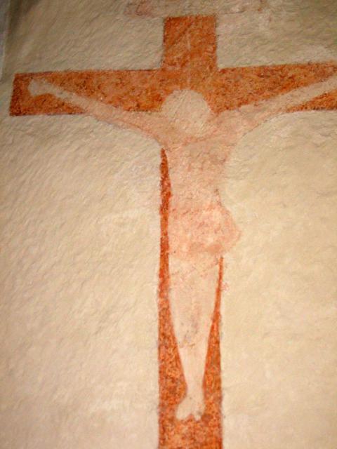 Korsfæstelsesbillede (ca 1500) Brudager kirke