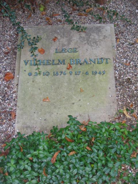 Læge Vilhelm Brandt Ollerup kirkegård