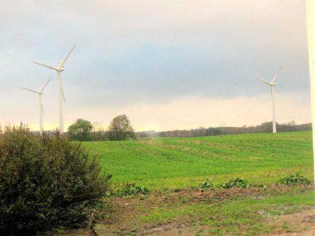 Moderne vindmøller Løjtved