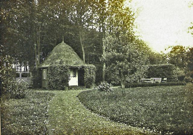 Lysthus ved Holevgård opført i 1830erne