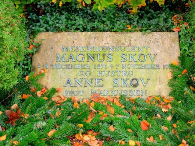 Mejerikonsulent Magnus Skov - Vester Skerninge kirkegård