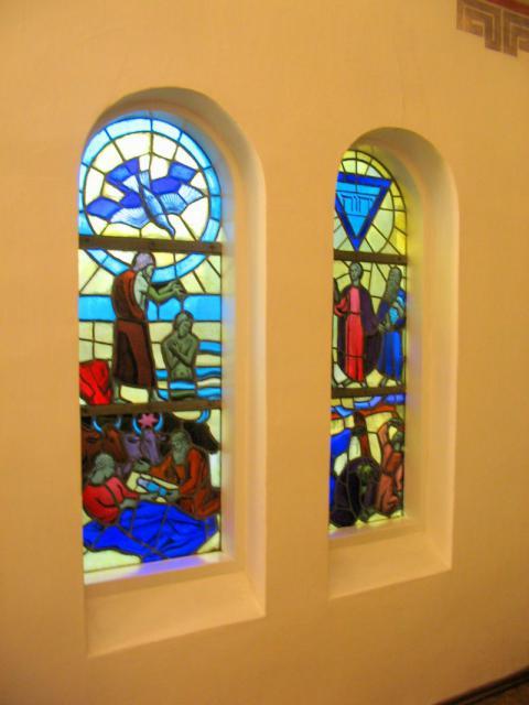 Mosaik-vinduer - Nazarethkirken