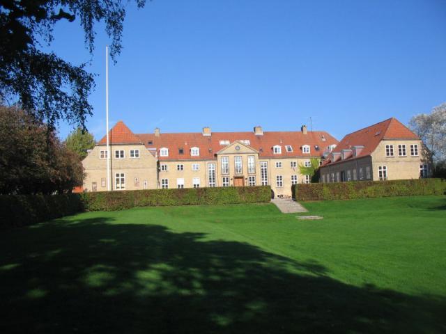 Den gl. hovedbygning - nu Ollerup Musikefterskole