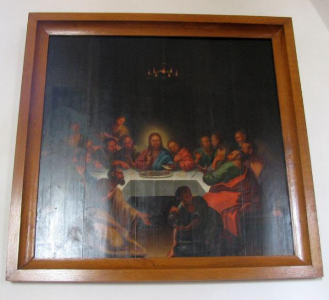 "Ollerup kirke - ""Nadveren"" måske (?) udført af N.P. Fogh"