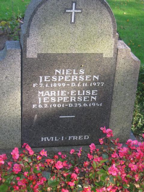 Niels Jespersen Øster Skerninge kirkegård