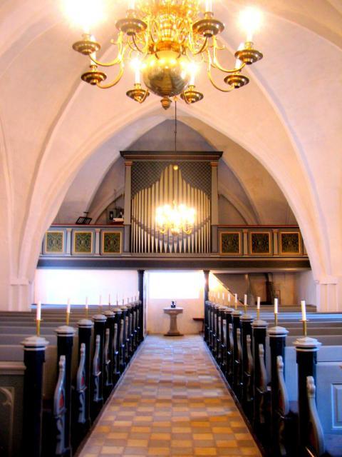 Orgel Kværndrup kirke