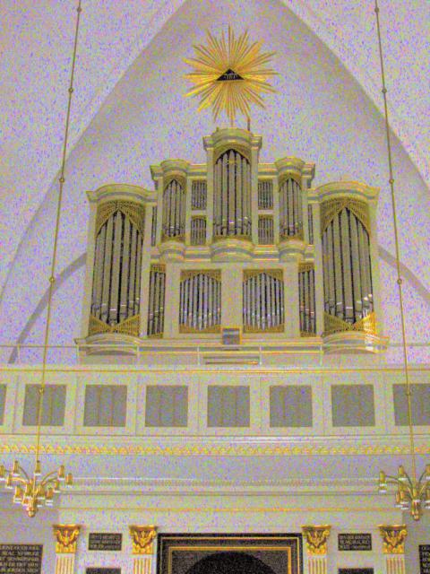 Orgel fra 1804 Brahetrolleborg kirke