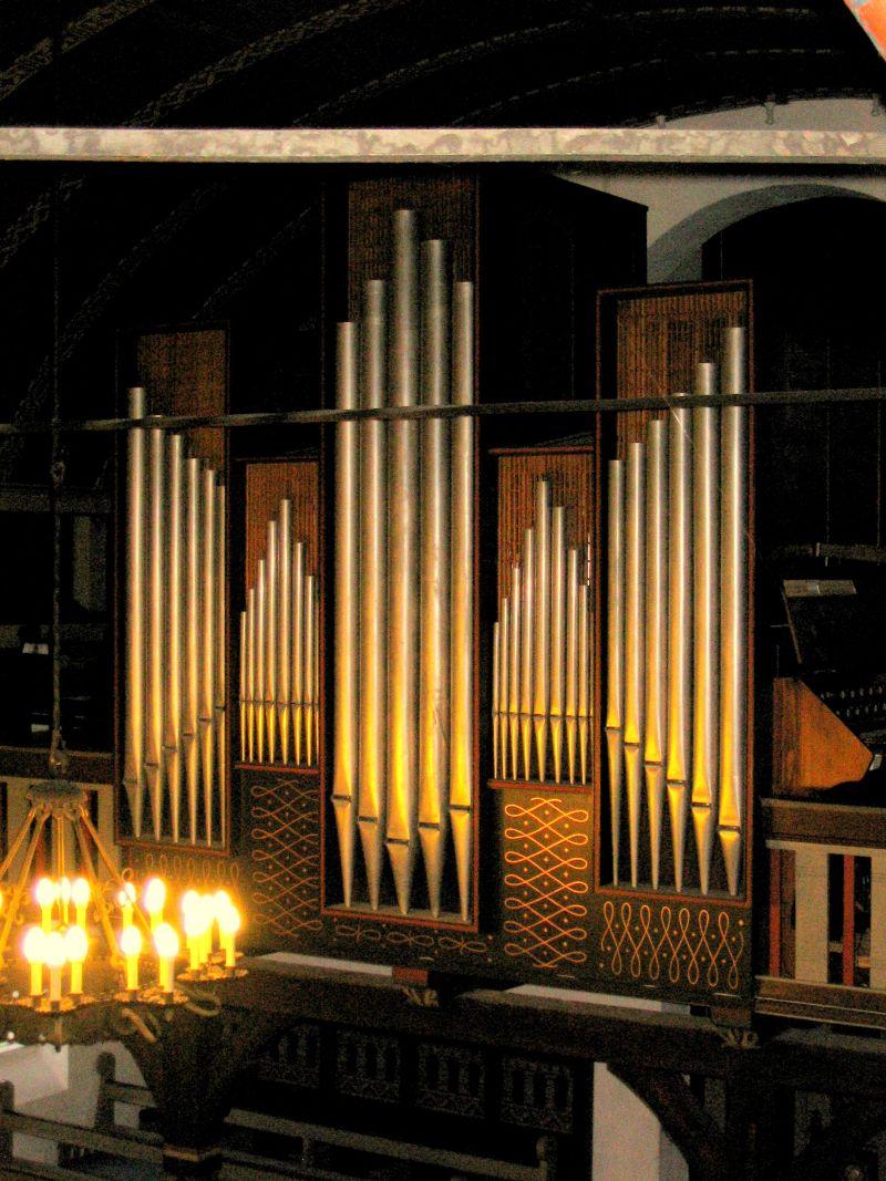 Orgel - Nazarethkirken i Ryslinge