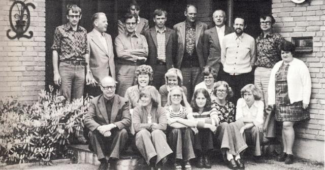 Ansatte 1976 i Landboforeningen for Svendborg og Omegn