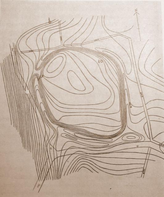 Voldsted for det ældste Skjoldemose i Mændenes Skovløkke