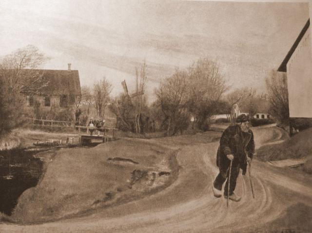 L.A. Ring: Forår i Hals (1892)