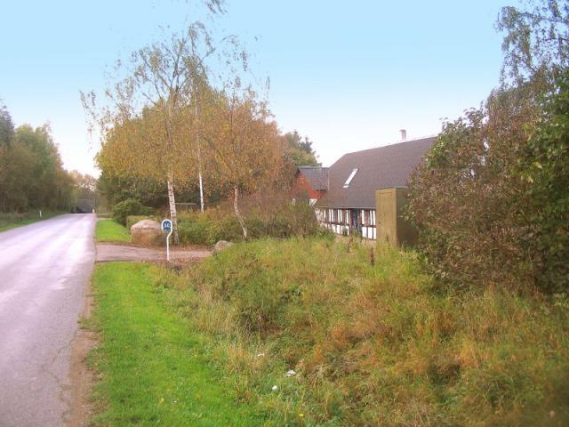 Væltenbjerg på Rødme Bakker, hvor bysmeden fik bolig i 1830a40'erne