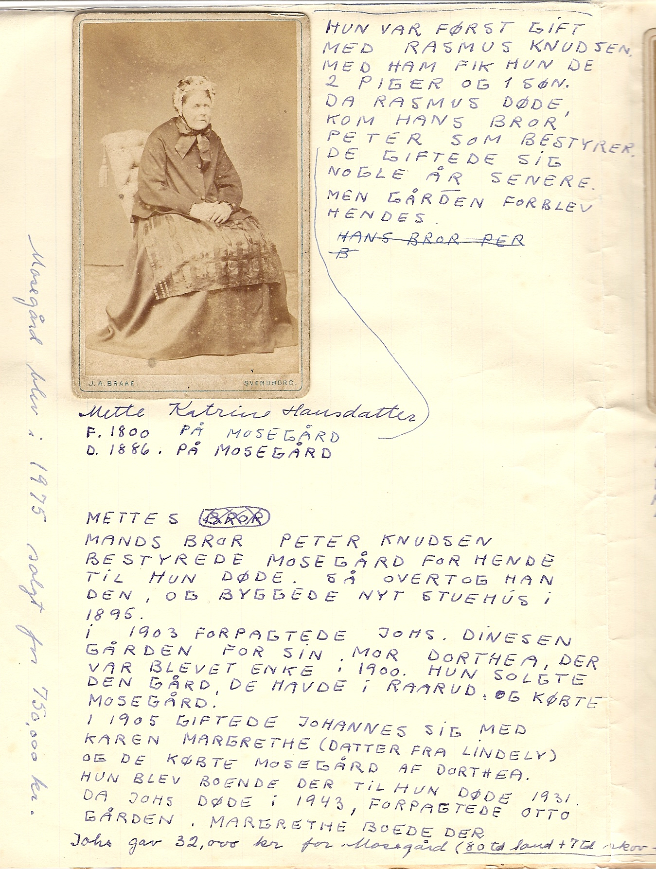 Mette Katrine Hansdatter (1800-86)