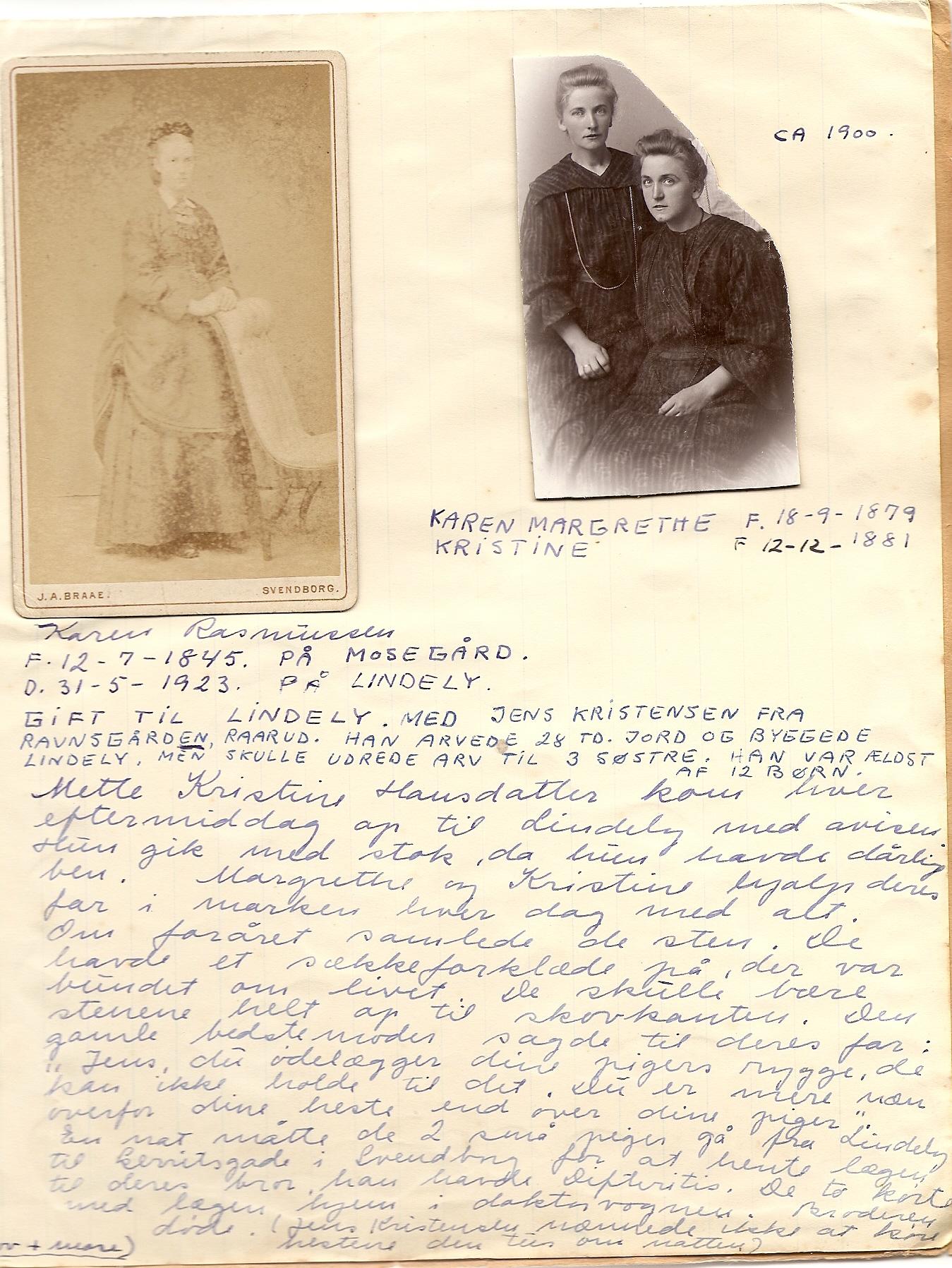 Karen Rasmussen (1845-1923)