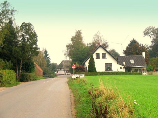 Skovlund - saml. af gårde og huse i Stenstrup sogn