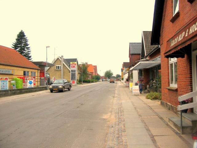 Stationsvej i Stenstrup