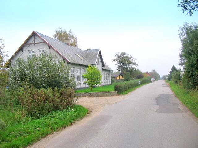 Stenskov Huse m. gl. Løgeskov skole - saml. af gårde og huse i Stenstrup sogn -del af Løgeskov
