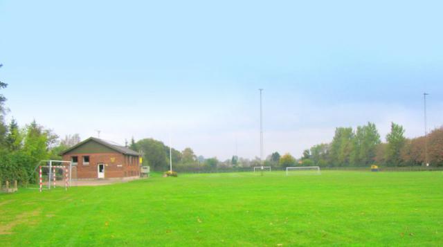 Stadion og klubhus i Stenstrup