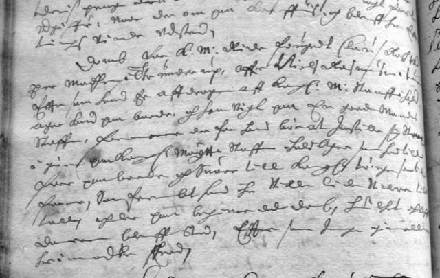 Tingbogsreferat 7.aug. 1663 (2)