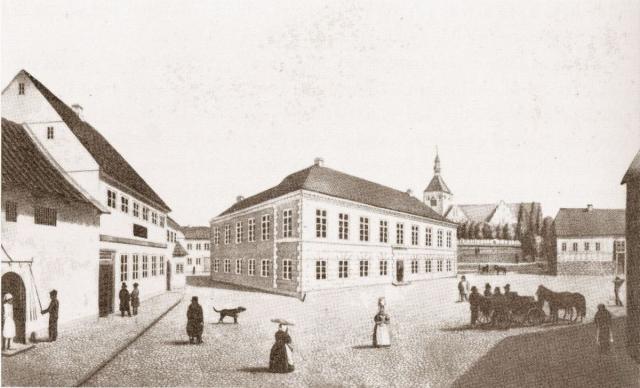 Svendborg Torv ca 1830