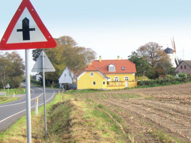 Ulbølle mølle fra Fåborgvej