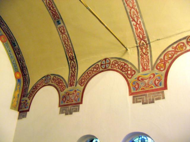 Korbue -udsmykning - Nazarethkirken
